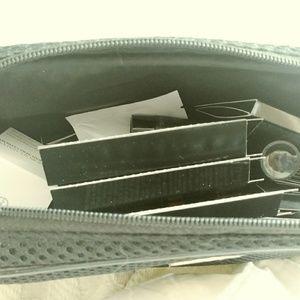 New Giorgio Armani Makeup Bag w/Samples